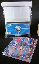 (20) CSP 9 Pocket Pages Baseball Trading Card Coupon Album Binder Holder