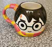 Harry Potter 3D Coffee Mug Chibi Design Warner Bros Brand New Official