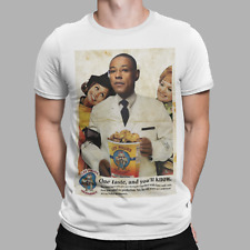Los Pollos Hermanos T-Shirt Breaking Bad Walter White Gus clásico cartel Tee