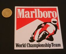 Adesivo stickers marlboro world championship team ottimo