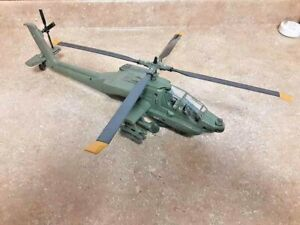 "16"" Large AH-64 Apach Helicopter Diecast Plastic  Military Model Fast Shipping"