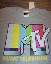 VINTAGE STYLE MTV Music Television T-Shirt XL NEW w/ TAG