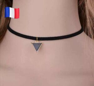 Création Collier Ras du cou gothique cosplay dentelle rouge foncé necklace C109