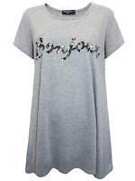 Marina Kaneva t-shirt top plus size 16 18 20 22/24 26/28 30/32 bonjour glitter