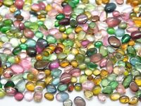 VVS Genuine Wholesale Lot AAA+ Natural Multi Tourmaline Cabochon Loose Gemstones