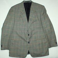 Brook Taverner Vintage Hacking Tweed Jacket - 42 R - Green Check - Mens Blazer