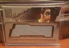 "WWE FLEER 2002 THE HURRICANE AUTO ""OFF THE MAT"" RELIC CARD VERY RARE WWF"
