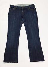 Blumarine jeans donna bootcut zampa W30 tg 44 dritti usati blu vita bassa T2518