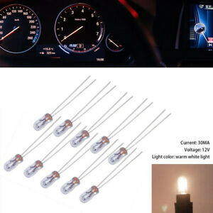10/20PCS Mini 3mm 6V 12V 24V Lamp Light Bulb Edison Incandescent Filament Rice