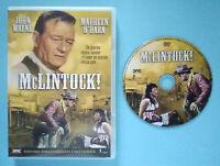 DVD Film Ita Western McLINTOCK! john wayne maureen o'hara no vhs cd mc lp (D4)