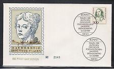 G 001 ) Germany 1989 FDC - Women German History  Fany Hensel Mendelsohn Musician