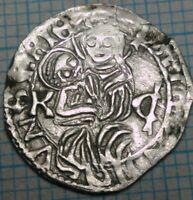 Beautiful silver denar, Ulaszlo II - Wladislaus II 1490-1516, Jesus