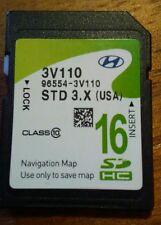 96554-3V110 2011 - 2014 HYUNDAI Azera Navigation SD CARD DATA U.S Map OEM