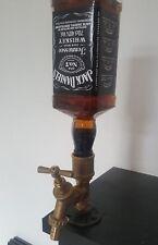 Steampunk Liqour Dispenser Jack Daniels Industrial Pipe Vintage Alcohol Spirits