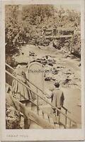 -les-bains Ain Savoia Cascade Chris CDV Demay Vintage Albumina Ca 1860