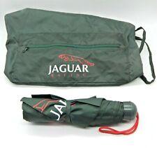 Genuine Jaguar Racing Green Light-Weight Bag & Umbrella Set