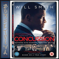 CONCUSSION -  Will Smith & Gugu Mbatha-Raw  *BRAND NEW DVD***