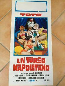 Lotto 12 Locandine Originali (Totò, Sordi, Pozzetto, Mastroianni, Allen Ecc.)