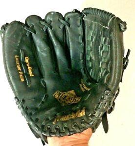 "Franklin 4685L-12"" Black Leather Baseball / Softball Glove for Left Hand Thrower"