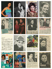 Brenda Benet HUGE collection over 200 magazine articles, clippings & photos V1