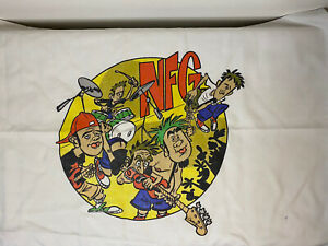 New Found Glory NFG Pillow Case White