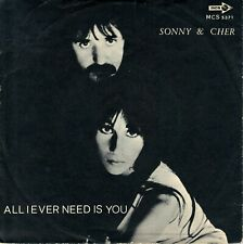 "7"" Sonny & Cher – I Got You Babe / All I Ever Need Is You / MCA 5371 // Italy"