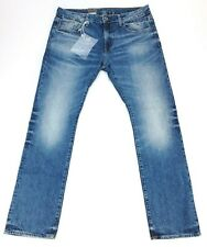 G-Star Raw Mens 36 x 32 Med Aged 3301 Deconstructed Higa Slim Straight Fit Jeans