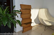 Design Wandboard Eiche Massiv Holz Board Regal Glasregal Regalbrett NEU !!!