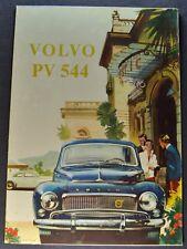 1959 Volvo PV 544 Sales Brochure Folder Excellent Original 59