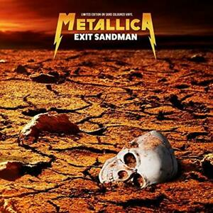 METALLICA-Exit Sandman - Sand Coloured Vinyl (UK IMPORT) VINYL NEW