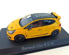 Renault Clio RS 16, amarillo, norev 1:43