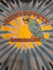 Jimmy Buffett SummerZcool 09-10 Concert Tshirt Men's Large