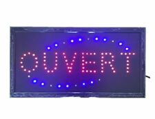 Ouvert neon light sign LED attractive sign for restaurant bar store shop