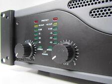 Omnitronic E900 MK2 PA DJ Verstärker Endstufe Profi Mono Stereo Limiter 900 Watt