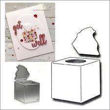 Box of Tissues metal die - Frantic Stampers Cutting Dies Get well FRA-DIE-10204