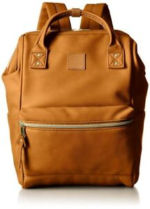 Anello Japan Synthetic Leather Backpack Large AT-B1211 Camel Beige Japan New