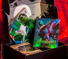 AVENGERS Nova Media 3D & 2D Steelbook Sold Out + Zavvi Zbox