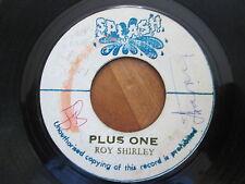 "Roy Shirley – The Great   - 7"" JA  Splash Blank 1974"