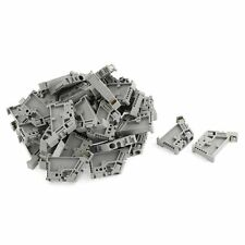 50Pcs 35mm DIN Rail Terminal Block End Stopper Mounting Clips A3W7