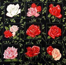 ROSE carta quadrati in tessuto 30 x 112 cm 33 quadrati NUTEX 89070-102