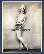 1920s Flo Ward Earl Carroll Vanities Oversized DBW Photo HAND SIGNED DeMirjian