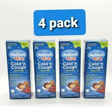 4 Pack Hylands 4Kids Nighttime Cold and Cough Homeopathic 4 fl oz SEALED