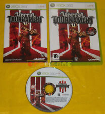 UNREAL TOURNAMENT III 3 XBOX 360 Vers Ufficiale Italiana 1ª Edizione »» COMPLETO