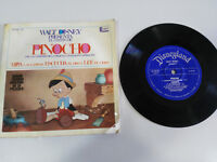 "PINOCHO DISNEYLAND SINGLE 7"" VINILO VINYL CUENTO + CANCION 1967 WALT DISNEY"