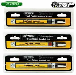 Woodland Scenics Track Painter - Choose From Steel, Rusty, Weathered - N OO O
