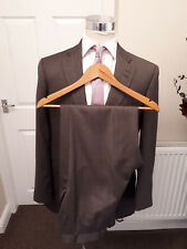BESPOKE HOLLAND & SHERRY MADE TO MEASURE SAVILE ROW SUIT ROUGHLY SIZE 42 *