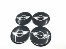 50mm Wings MIni Wheel Alloys Center Stickers Emblem COOPER ONE CLUBMAN