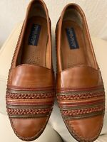 Giorgio Brutini Mens Tri Color Leather Loafers Dress Shoes Size 8.5D Brazil