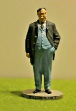 Danbury Mint Pewter By D. LaRocca Hand Painted President to scale William H. Taf