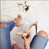 Sexy Fashion Womens Open Toe Transparent Slippers High Heel Shoes  Sandals